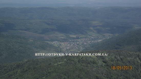 Панорама с вершины Парашки