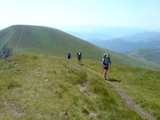 Туристический маршруты в Карпатах