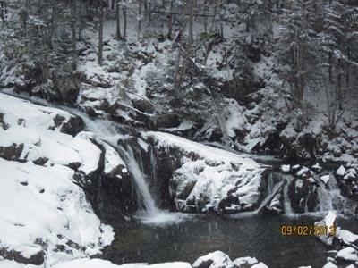 Водопады в Карпатах