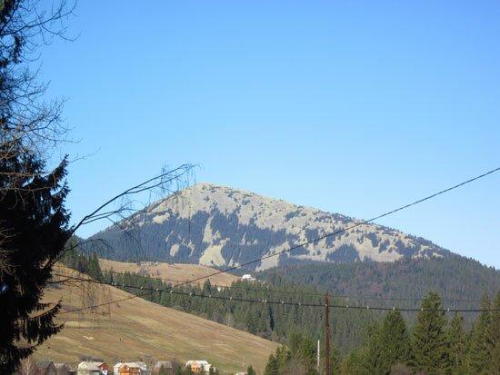 Яблуница гора Хомяк